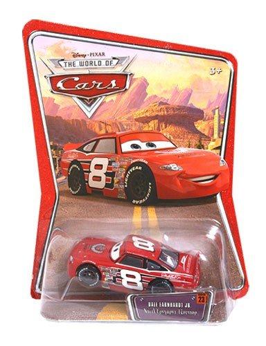 Dale Earnhardt Jr Race Shop - Disney Pixar Cars Race O Rama Dale Earnhardt Jr. (Piston Cup Ticket #23) by Mattel