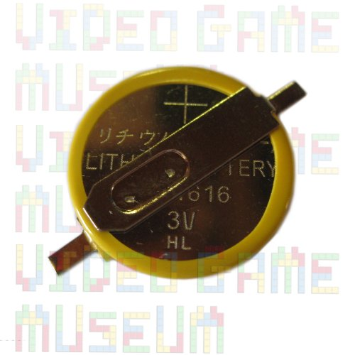 CR1616 Lithium Battery with Solder Tabs