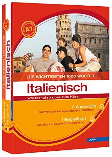 Wortschatztrainer - Die wichtigsten 1000 Wörter, Italienisch