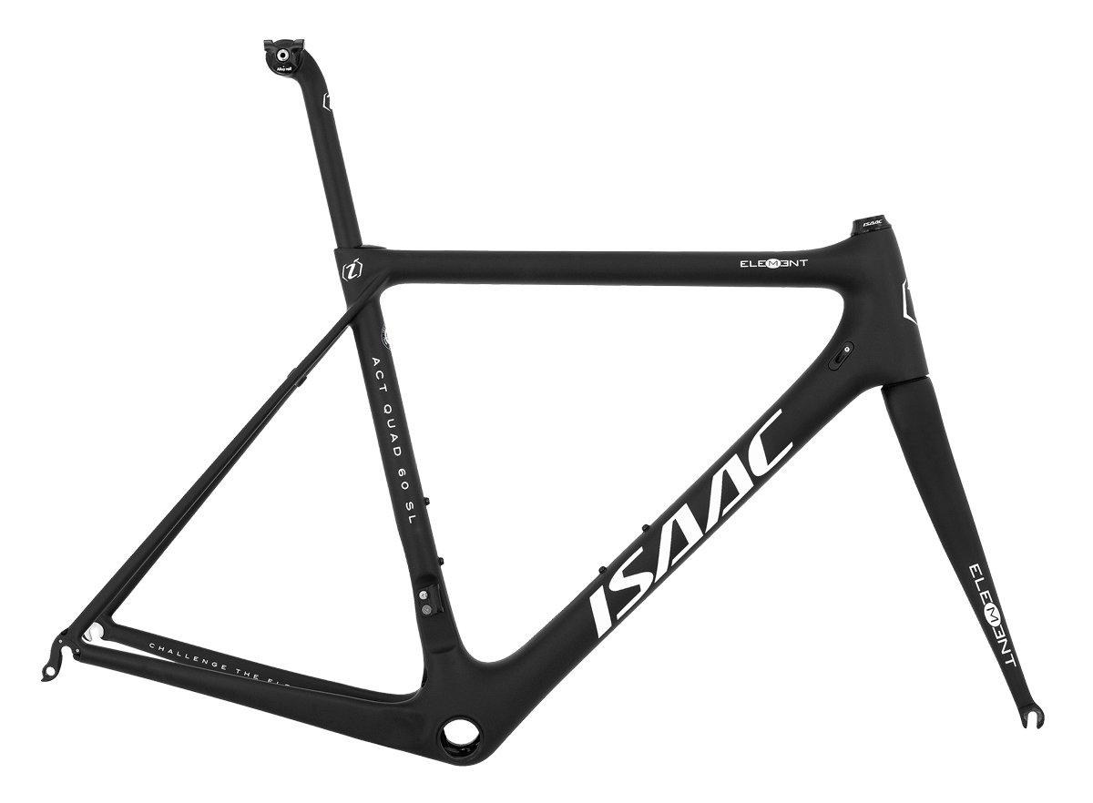 *ISAAC*〈ELEMENT〉700C ロード フレームセット 全カーボン Road Bike バイク B0792G42CF