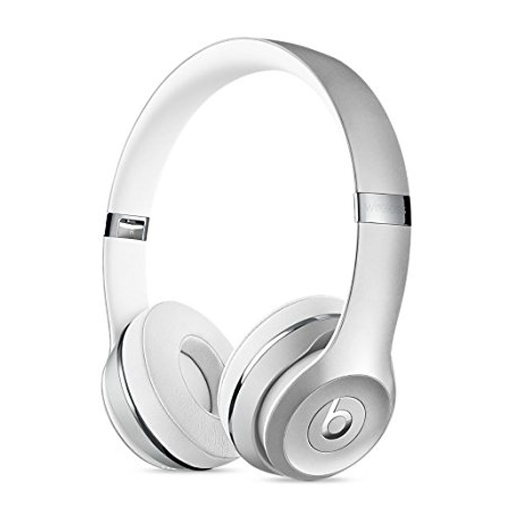 Beats Solo3 Wireless On-Ear Headphones - Silver by Beats Solo3