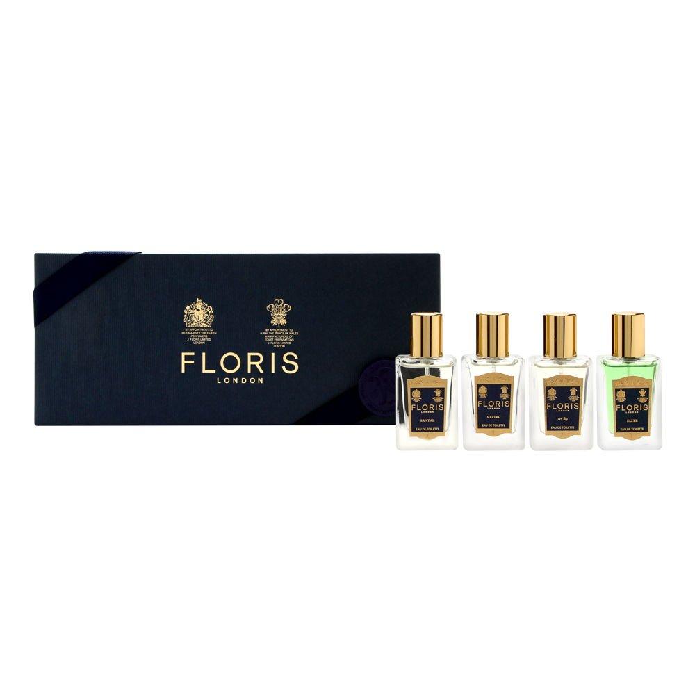Floris London Fragrance Travel Collection For Him 4 Piece Set