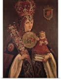 Great BIG Canvas Poster Print entitled Mexico: Nun, 16th Century