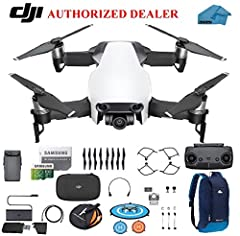 You will get                 1 - Mavic Air Aircraft        1 - Remote Controller        1 - Intelligent Flight Battery        1 - Charger        1 - Power Cable        4 - Propellers        1 - Propeller Guards        1 - Remote Cable ...