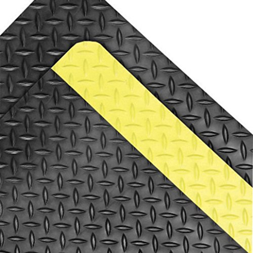 - Superior Manufacturing Notrax 2' X 3' Black And Yellow 1