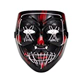 Halloween led horror luminous mask role playing