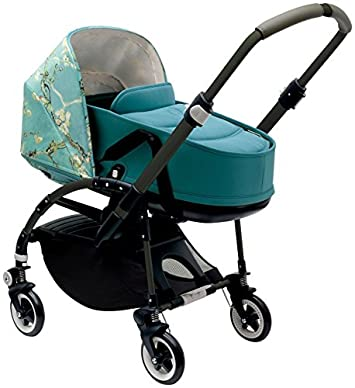Bugaboo Bee3 Stroller – Van Gogh Petrol Blue Special Edition