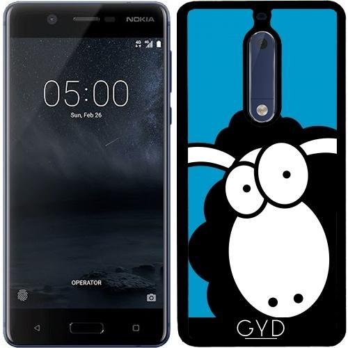 Funda de silicona para Nokia 5 - Oveja Negra by Warp9