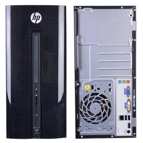 "2017 HP 251 21.5"" Full HD 1920 x 1080 Desktop PC Bundle, Intel Pentium Quad-Core Processor, 4GB RAM, 1TB 7200RPM HDD, DVD+/-RW, WIFI, Keyboard and Mouse, Windows 10"