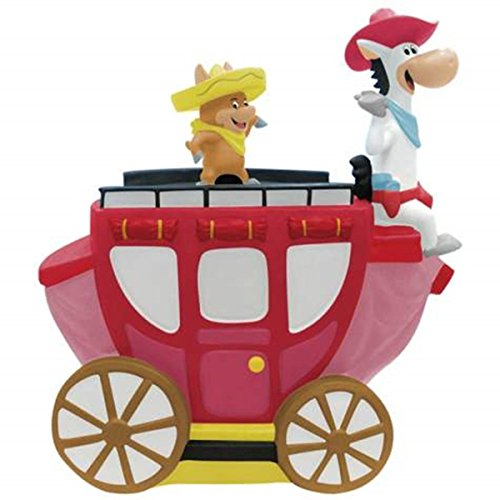 Westland Giftware Quick Draw McGraw on Carriage Cookie Jar ()