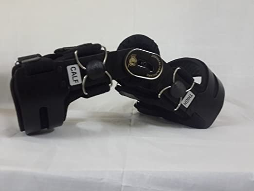 dcd0f49ff2 Amazon.com: Z1 OsteoAlign Knee Brace (Medium, Black): Health & Personal Care
