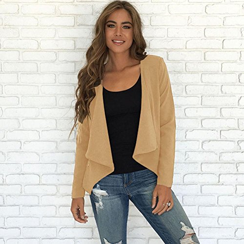 Hiver Longue Manteau 2017 Grande Longra taille Automne Uni Femme Cardigan qXPaU8wa