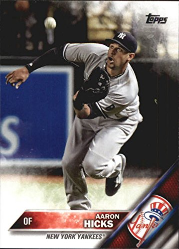 2016 TOPPS UPDATE #US102 AARON HICKS