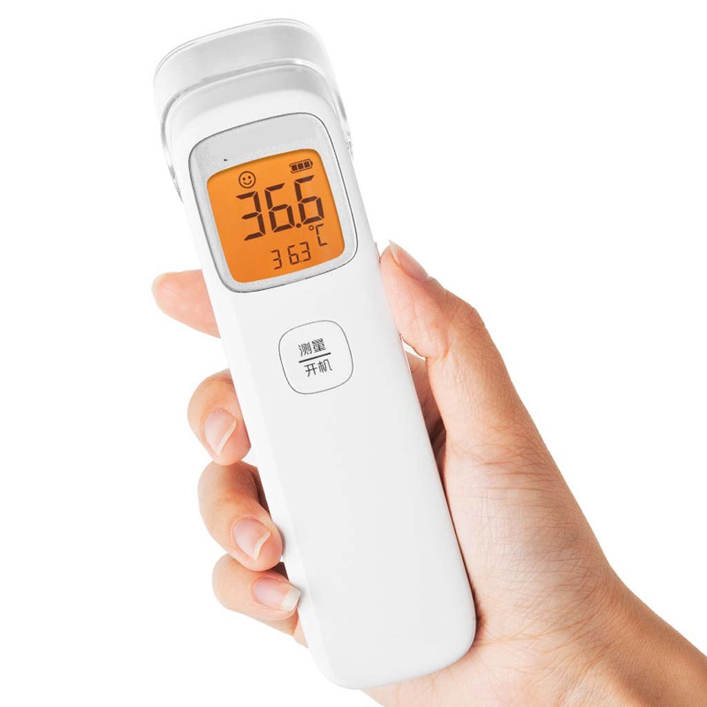 GAIHU Ear And Forehead Thermometer, Precision Infrared Digital Thermometer For Infants, Children, And Adults, 1 Second Measured Time Memory Value