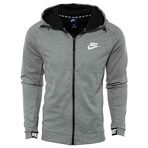 Chin Noir Fonc 063 861742 Homme Gris Nike Blanc Sweat Capuche Shirt qBw8EIE5F