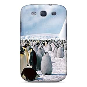 Excellent Galaxy S3 Case Tpu Cover Back Skin Protector Arctic Penguins
