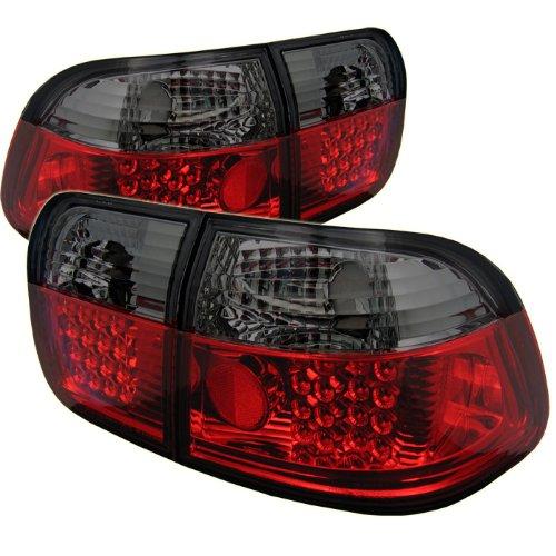 Spyder Auto ALT-YD-HC96-4D-LED-RS Red Smoke LED Tail Light