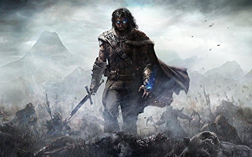 Da Bang Middle Earth Shadow Of Mordor Poster Print