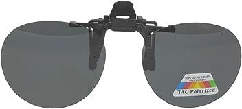 fbefe48df4c Sunglass Rage. Round Polarized Flip up Clip on Sunglasses
