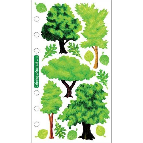 Sticko Vellum Stickers - (Tree Stickers)