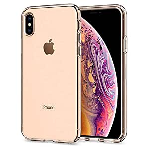 Spigen iPhone XS/iPhone X Liquid Crystal cover/case - Crystal Clear