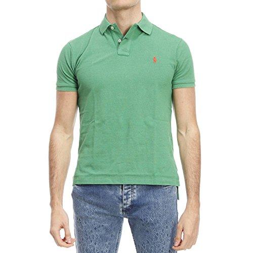 Ralph Lauren Herren A12KAA09B3508B3508 Grün Baumwolle Poloshirt