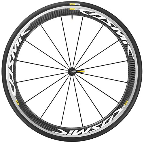 Mavic 2017 Cosmic Pro Carbon WTS Front Road Bicycle Wheel (White - Front 25)