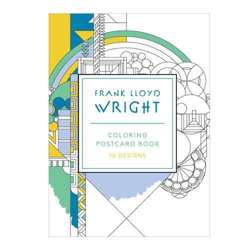 Frank Lloyd Wright Coloring Postcards