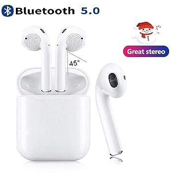 Auriculares Inalambricos Bluetooth 5.0, Auriculares Bluetooth ...