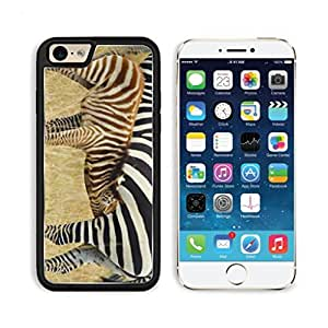 Animal Zebra Wildlife Africa Grassland Yellow Pattern Black White Group Apple iPhone 6 TPU Snap Cover Premium Aluminium Design Back Plate Case Customized Made to Order Support Ready Luxlady iPhone_6 Professional Case Touch Accessories Graphic Covers Designed Model Sleeve HD Template Wallpaper Photo Jacket Wifi Luxury Protector Wireless Cellphone Cell Phone