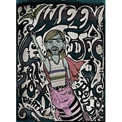 Ween Dean Gene Fox Theatre Limited Edition Rare Darren Grealish Concert Poster