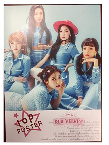 (Fancy105 Kpop RED Velvet Photo Posters (10)