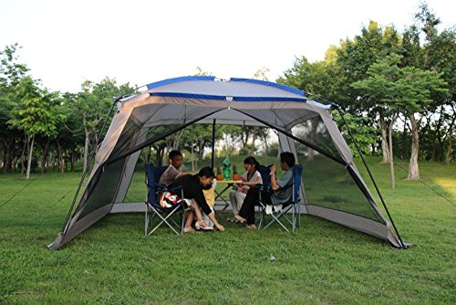 Outdoor Sports 5 8 People Large Beach Canopy Uv Protection
