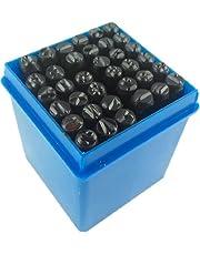 timtina® Set 36-dlg. Slagcijfers en slagsletters 4 mm