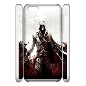 iphone6 Plus 5.5 3D Cell Phone Case White Ezio Auditore da Firenze VC3XB0246790