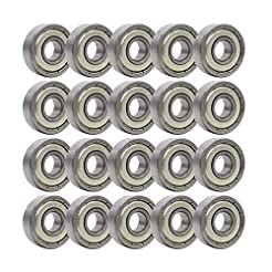 Rollerex 20-Pack, 608Z ABEC-1 Wheel Bear...