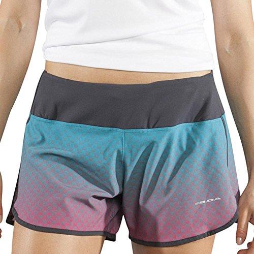 BOA Women's Stamina Running Short (1025SW) (Wicker 616A, Medium) - Womens Supplex Running Shorts
