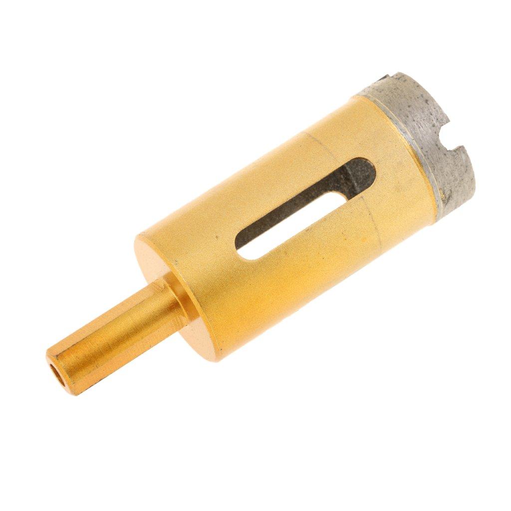 95mm MagiDeal Foret Diamant/é Fraise M/èche Tr/épan pour C/éramique Verre Carrelage 6mm-100mm Or