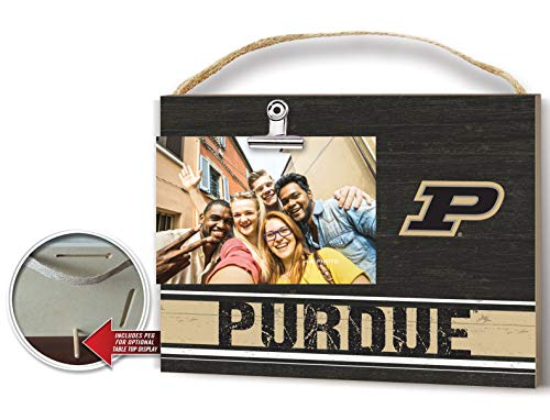 Purdue Boilermakers Tabletop - KH Sports Fan Clip It Colored Logo Photo Frame Purdue Boilermakers