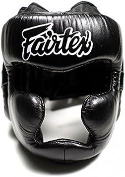 Fairtex MMA Sparring Headgear Kickboxing Muay Thai Boxing Full Face Head Guard