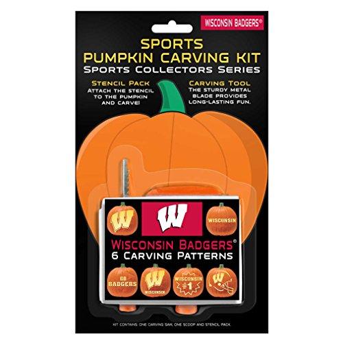 NCAA Wisconsin Badgers Pumpkin Carving Kit