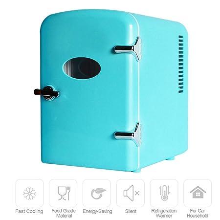 WO NICE 4L Refrigerador del Coche Modo frío/Caliente Sin Ruido 12 ...
