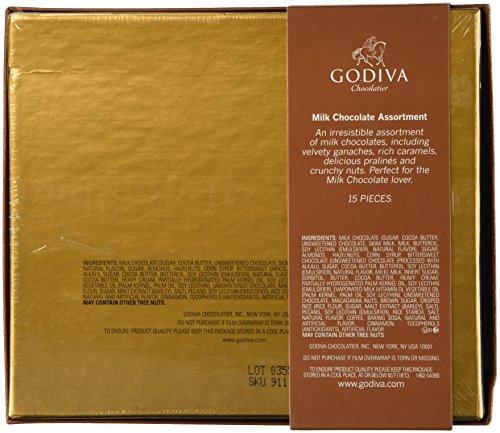 Godiva Small Milk Chocolate Assortment Gift Box