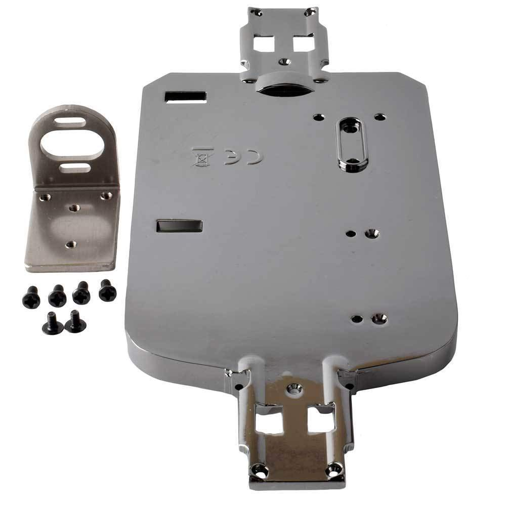 Toyoutdoorparts RC A580050 Gray Alloy Chassis + 380/390 Motor Mount Fit WLtoys 1:18 A949 A959