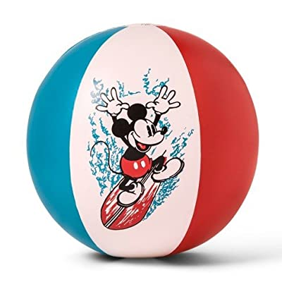 Junk Food Mickey Mouse Inflatable Pool Beach Ball Multi-Colored: Toys & Games