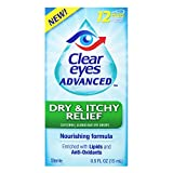 Clear Eyes Advanced, Dry & Itchy Relief Eye