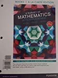 img - for Books a la carte edition for A Survey of Mathematics with Applications (10th Edition) book / textbook / text book
