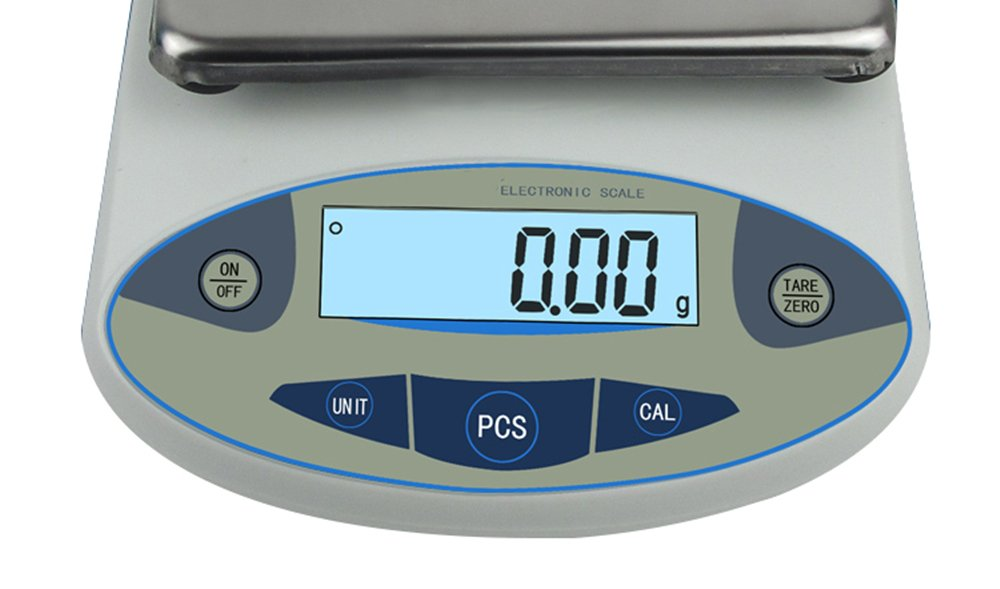 High Precision Lab Analytical Electronic Balance Digital Precision Scale Laboratory Precision Weighing Electronic Scales Balance Jewelry Scales Gold Balance Kitchen Scales (5000g, 0.01g) by CGOLDENWALL (Image #5)