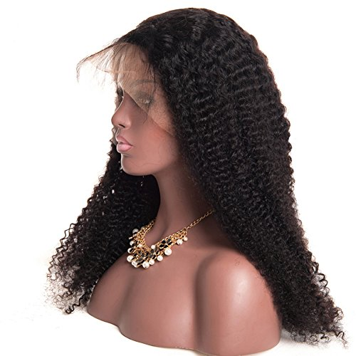 Ruiyu Glueless Lace Front Human Hair Wigs for Black Women Kinky Curly Wig with Baby Hair Brazilian Wigs Pre Plucked by Ruiyu