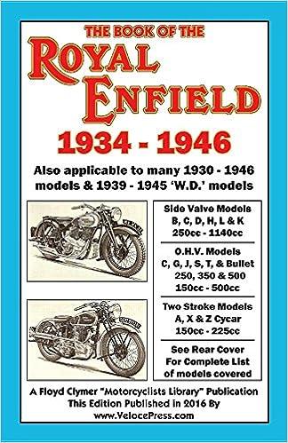 Download Pdf Book Of The Royal Enfield 1934 1946 Free Online Dozens Injured